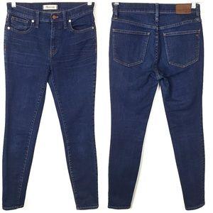 MADEWELL 9 Inch High Riser Skinny Skinny Jeans